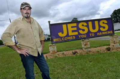 City of Hawkins files suit against church involving Jesus sign