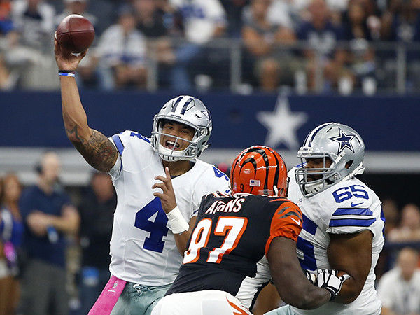 Dallas Cowboys, led by rookie Dak Prescott, are now 4-1 after 28-14 win over Cincinnati Bengals