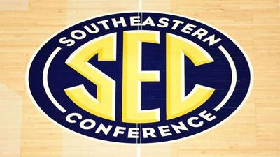 SEC basketball logo