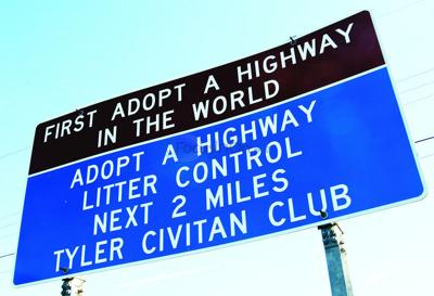 Tyler gave birth to Adopt-a-Highway