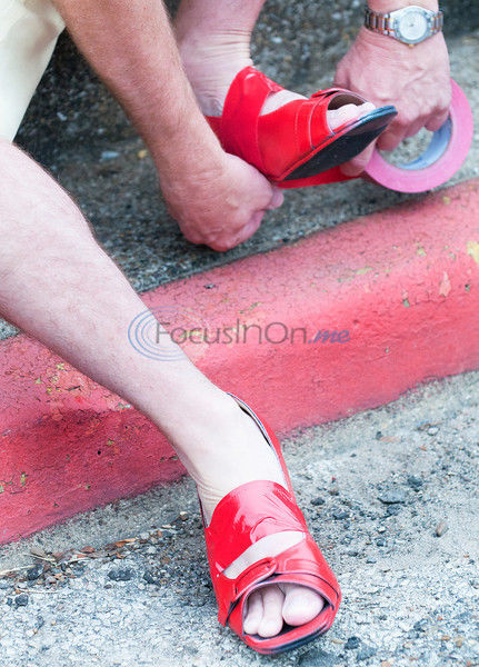 PHOTOS: Walk A Mile In Her Shoes held in Athens on Saturday