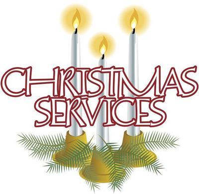 Christmas and Christmas Eve services around East Texas