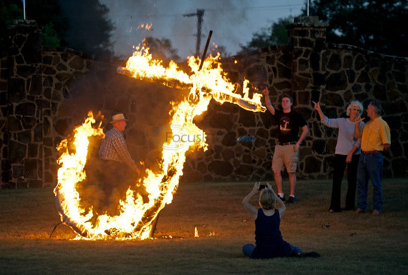 Off the Gridiron: The 'Flaming J' is tradition of pride at Jacksonville High School