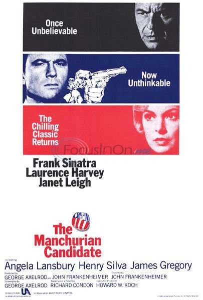 Catching up on John Frankenheimer: 'The Manchurian Candidate'