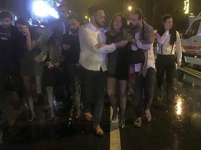 Manhunt underway for lone gunman after shooting massacre at Istanbul nightclub