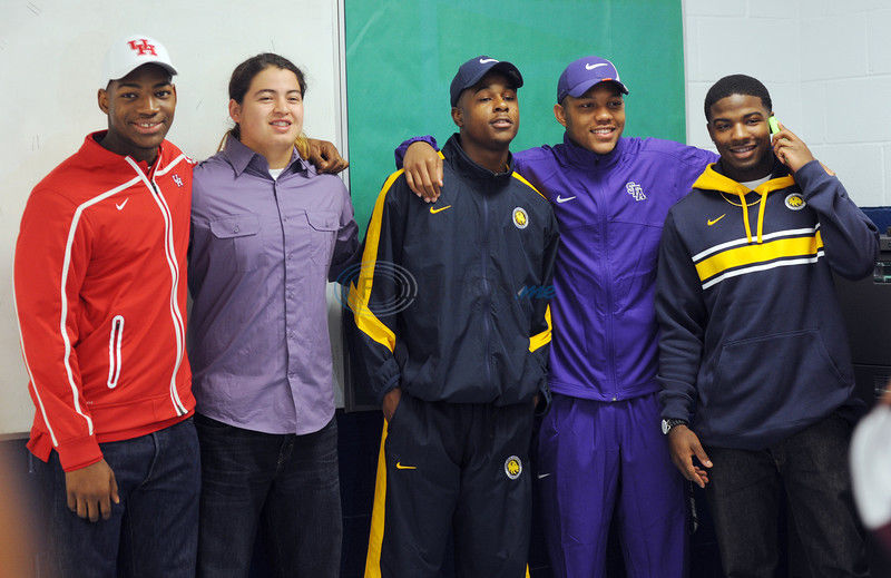 Photos from Wednesday's Signing Day