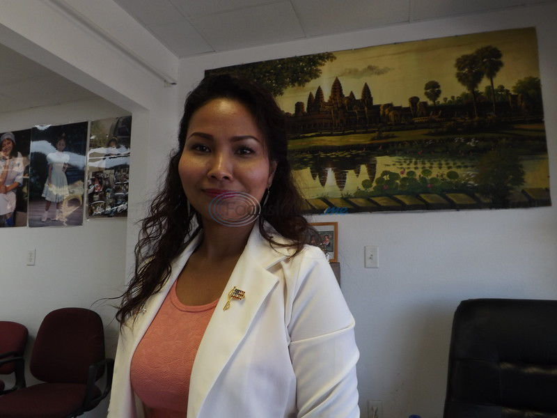 Jacksonville woman, originally from Cambodia, becomes an American