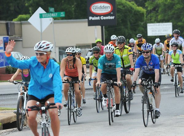 Riders Up: 200-plus cyclists show support for riders injured on roadways