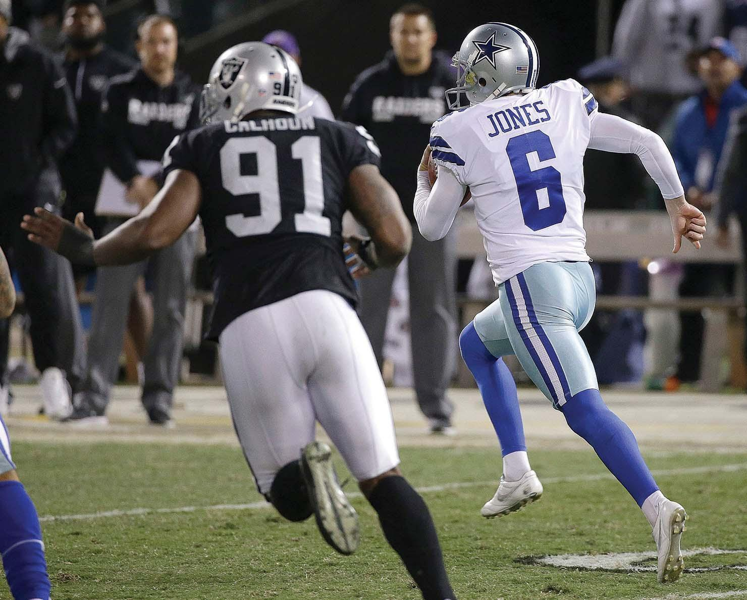 Cowboys edge Raiders 20-17 by the slimmest of margins