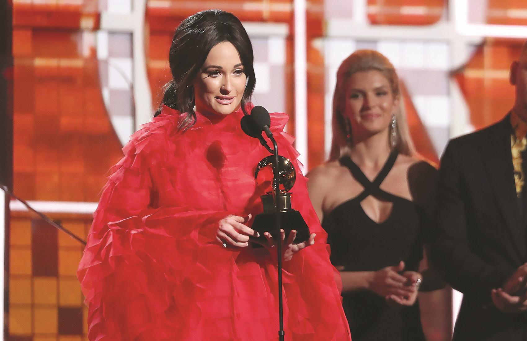 East Texan Musgraves wins 3 Grammys, performs