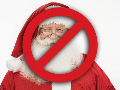 """Alaskan street preacher yells """"no such thing as Santa Claus"""" to kids lined up at Texas mall"""