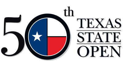 50th Texas State Open logo
