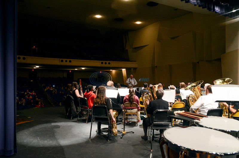 Community band lends experience to middle-school players