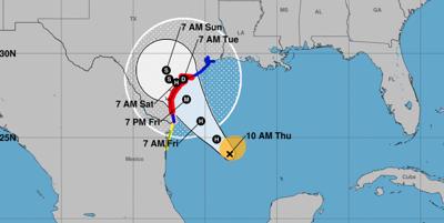 East Texas prepares as Hurricane Harvey bears down on the Texas Gulf Coast