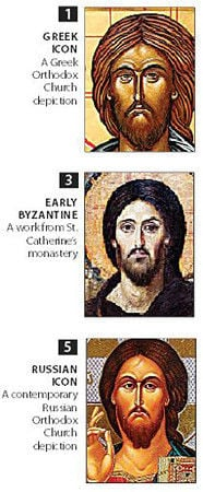 The many faces of Jesus: Christian savior's depiction in art has changed throughout the ages