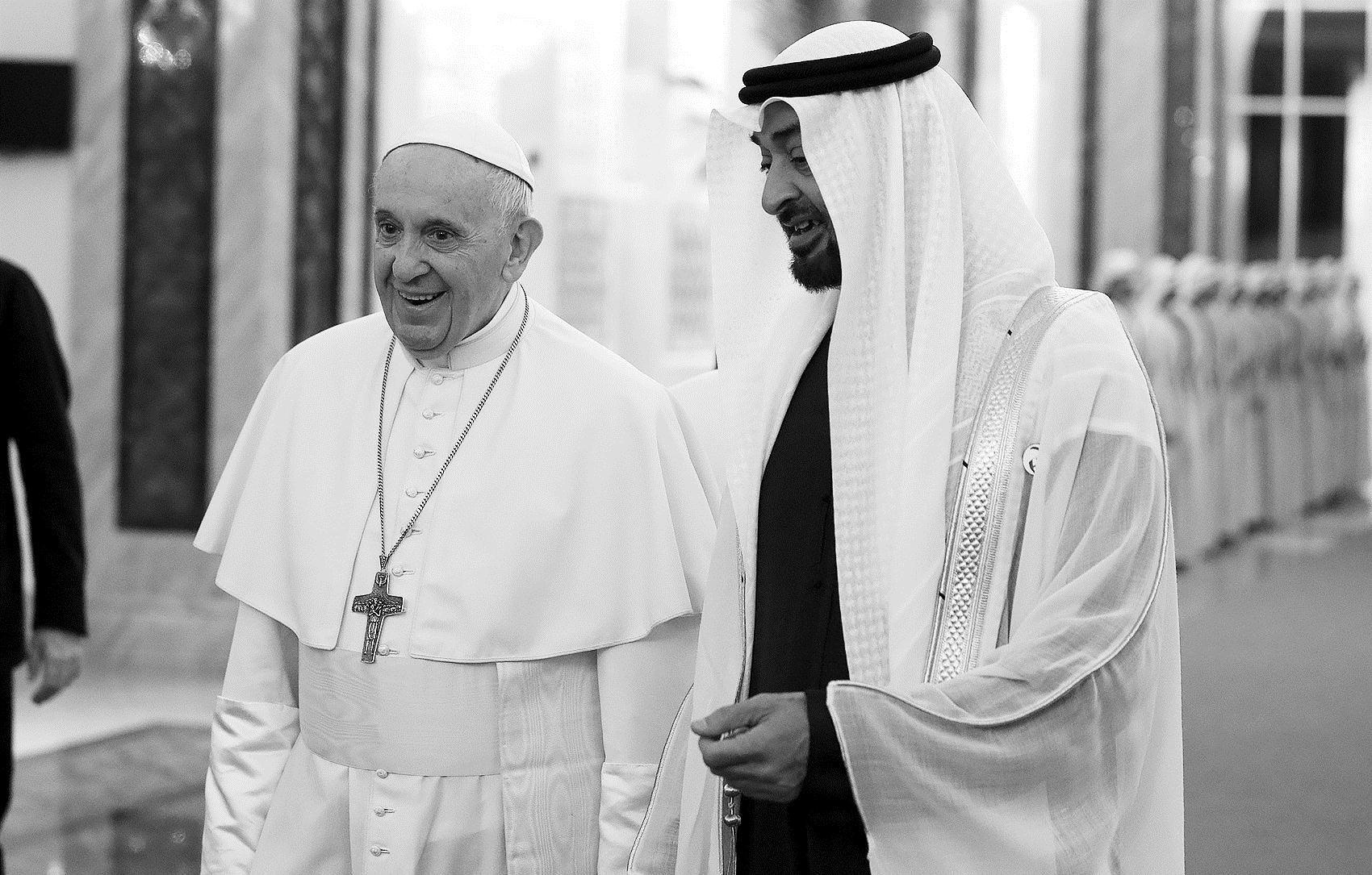 Pope in United Arab Emirates for historic trip