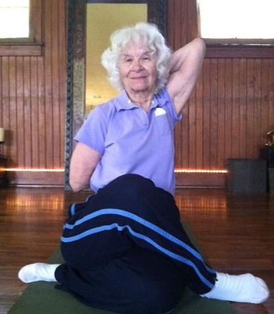 Age no obstacle for 90-year old fitness buff