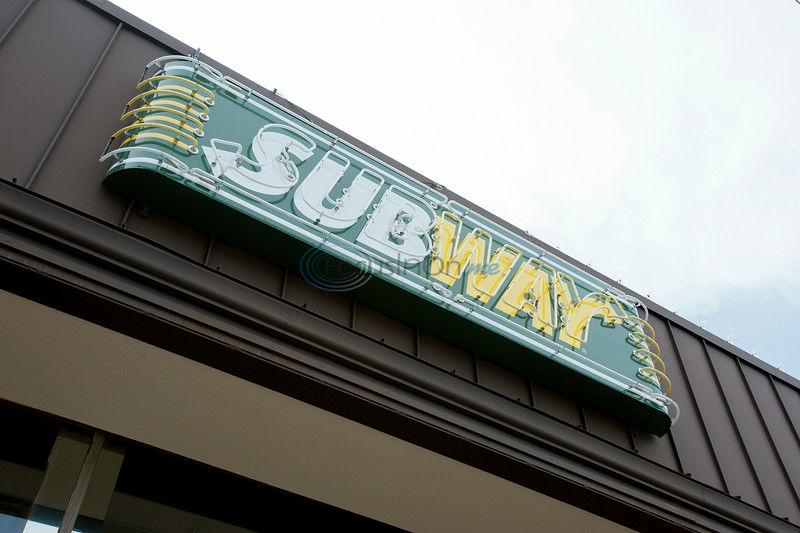Newest Subway boasts different decor, 'Sub Man'