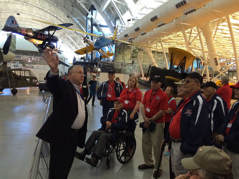 Heroes Flight: Veterans return from 3-day tour of the nation's capital