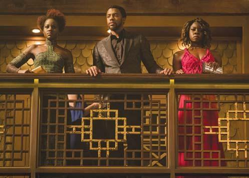 Black Panther movie causing excitement around country