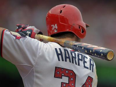 MLB tells Bryce Harper no patriotic bats allowed in baseball