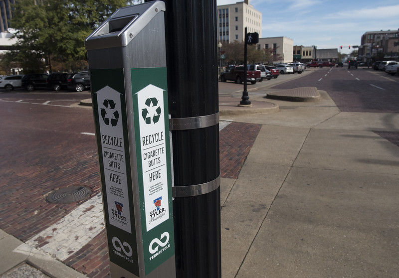 Keep Tyler Beautiful works to keep cigarette butts off downtown streets