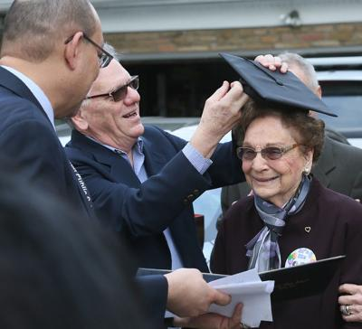 Woman, 93, gets diploma once denied because she was married