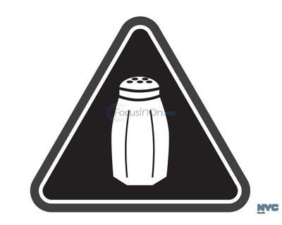 High salt warning symbol to start appearing on NYC menus