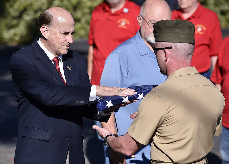 Stolen Tyler VA Care Center flag replaced with flag from nation's capital