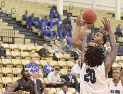 Apaches edged out by Blinn 77-74 at Region XIV Day 1