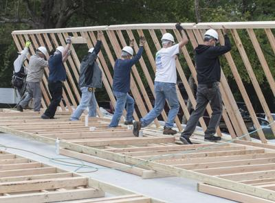 UT Tyler students manage construction of new Habitat for Humanity home