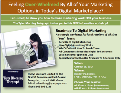 Learn how to make digital advertising work FOR your business