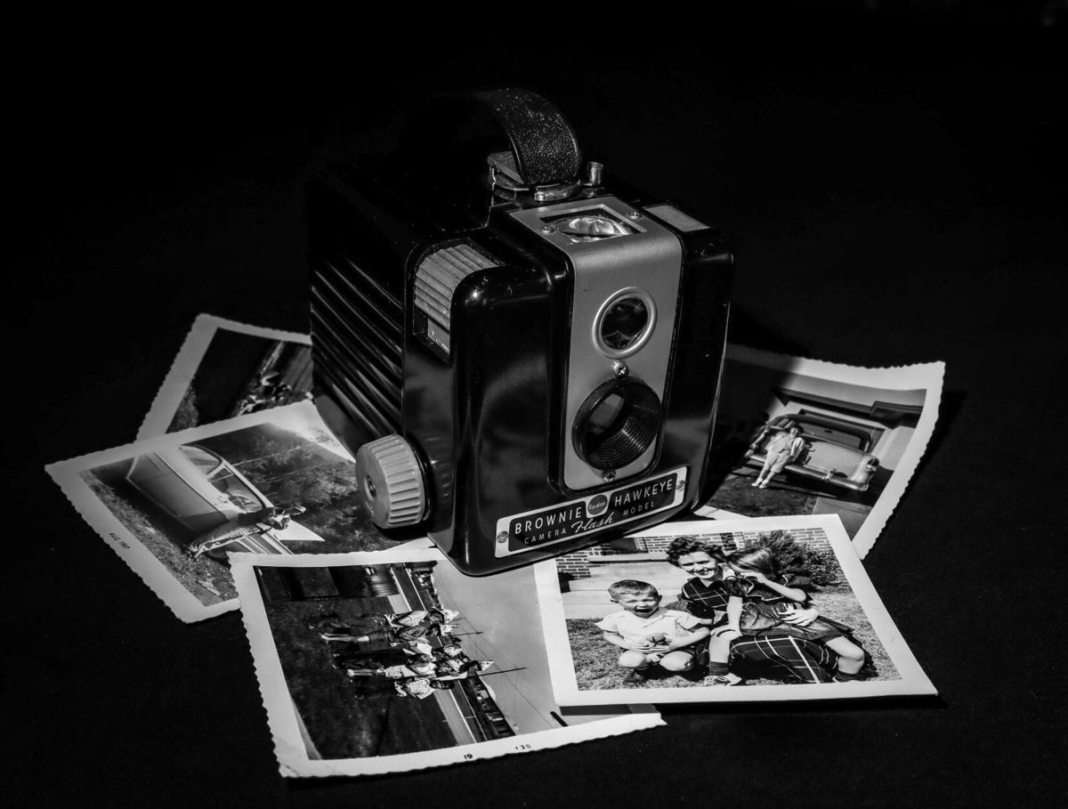 Pictures taken with my Brownie Hawkeye camera (from the 1950's)