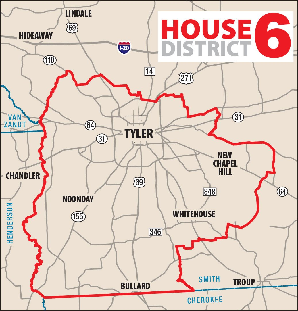 Map Of Texas District 6.Rep Matt Schaefer Seeks His 4th Term In The Texas House