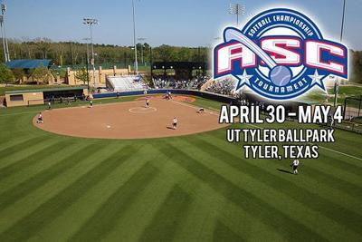 UT Tyler hosts ASC softball tournament