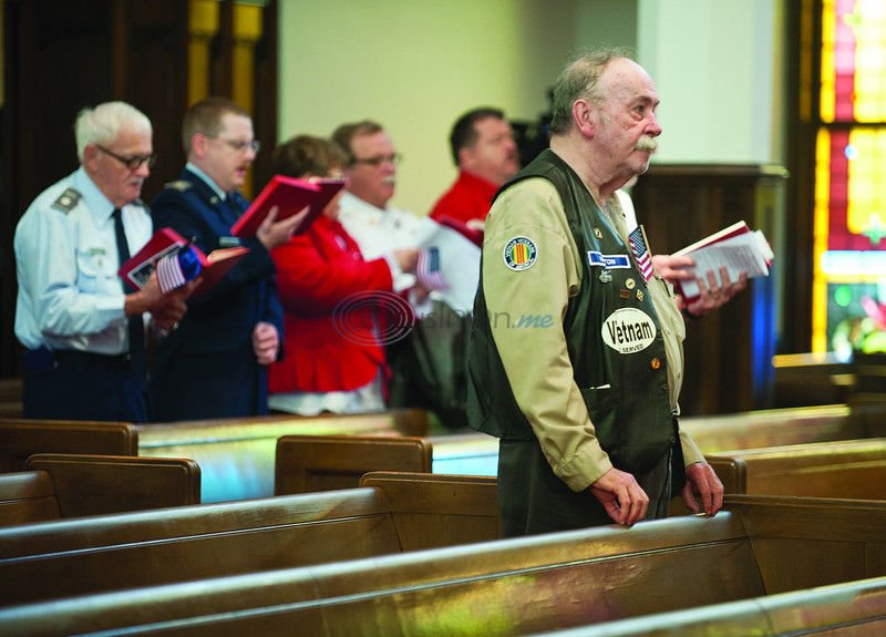 Residents gather to remember, pray for veterans and active military