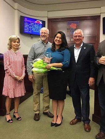 Historic preservation officer awarded the Tyler Blueprint Blue Ribbon Award