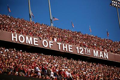 Texas A&M sues NFL's Colts for '12th Man' trademark offense