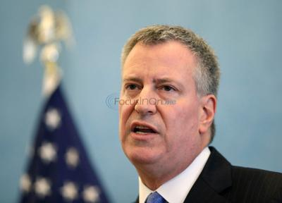 NYC Mayor to business leaders: Start pay at $13 an hour
