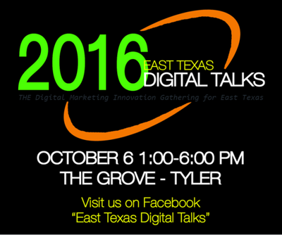 East Texas Digital Talks coming to Tyler Oct 6