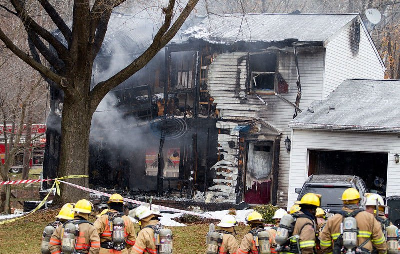 UPDATED: 3 unaccounted for, 3 dead in Md. jet crash in home