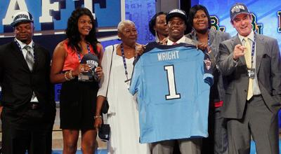 Pittsburg's Wright drafted by Titans