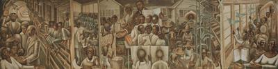Restored African-American school mural on view at Tyler Museum of Art Aug. 20-Sept. 10