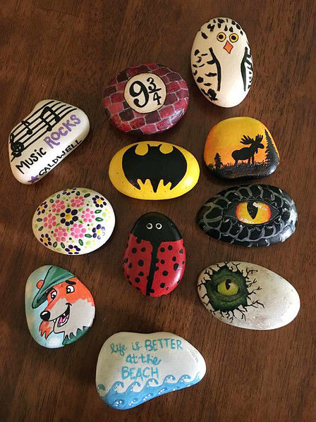 tylertexasrocks 120 incredible painted rocks made and hidden by