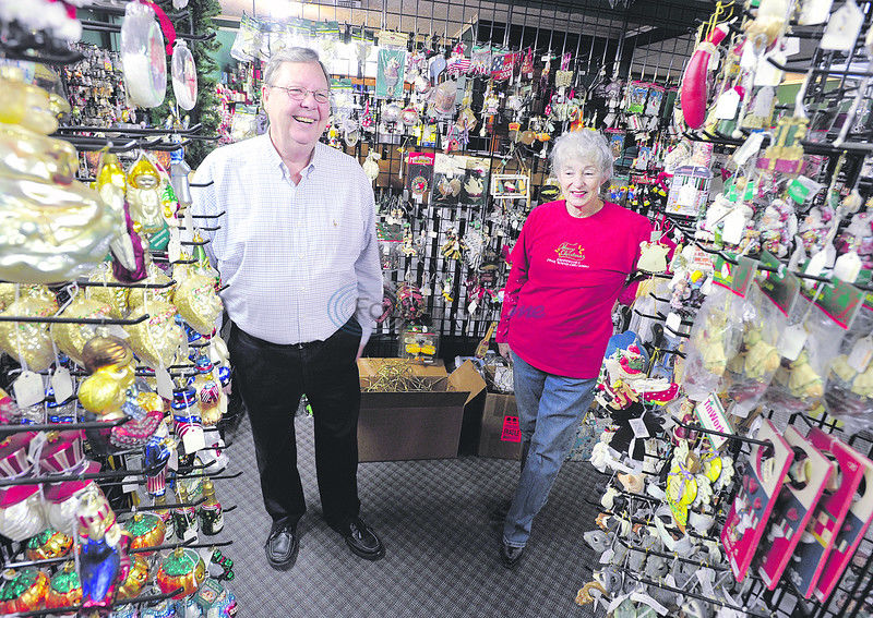 Couple turns love of Christmas into year-round business