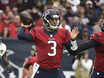Houston Texans Coach says Tom Savage will start at quarterback Saturday against Cincinnati Bengals