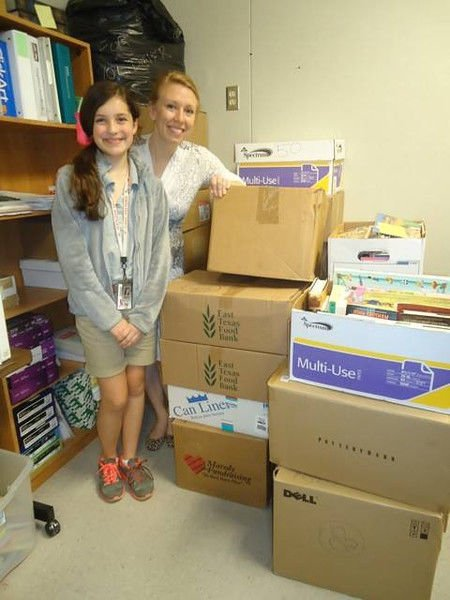 Tyler ISD student collects 2,000 books for Literacy Council