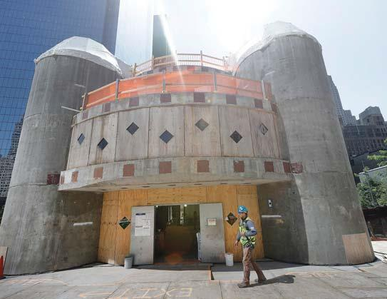 Construction halted at church destroyed in Sept. 11 attacks