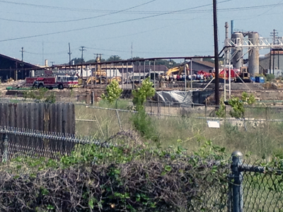Contract worker crushed by Bobcat machinery at Tyler Pipe