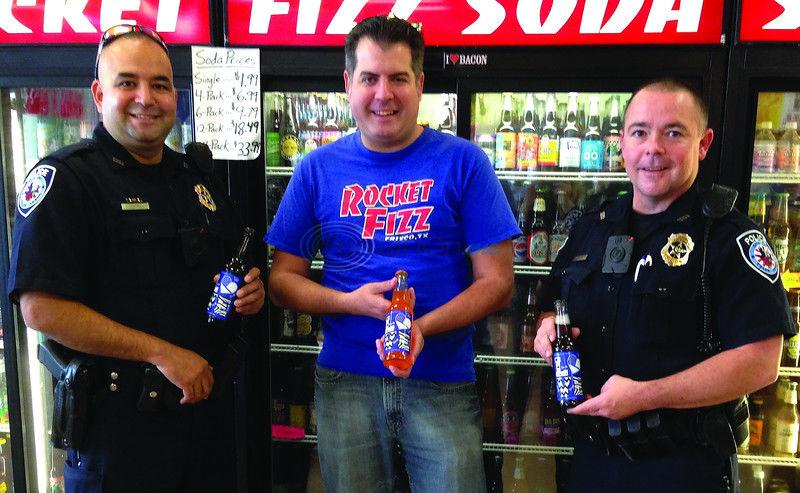 Rocket Fizz backs Blue Santa with special soda sales